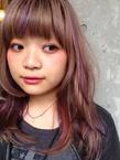"""""""キャンディフロス★pink&purpleグラデーション"""""""