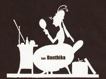 hair Donthika  | −ヘアドンティカ−  のロゴ