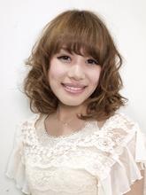 ふわミディ|hair Donthikaのヘアスタイル