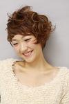 気ままなクセ毛風ショート。|laluna alex 阪急六甲店のヘアスタイル