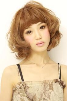 ふんわりエアリーボブ3|la luna alex 神戸北町店のヘアスタイル