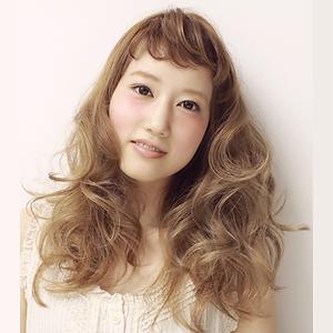 ふわふわロング|la luna alex 神戸北町店のヘアスタイル