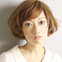 レトロニュアンス!バルーンヘア|la luna alex 神戸北町店のヘアスタイル