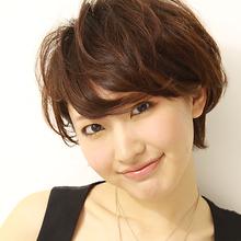 愛されナチュラルショート|la luna alex 神戸北町店のヘアスタイル