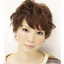 ガーリーショート la luna alex 神戸北町店 alex collectionのヘアスタイル