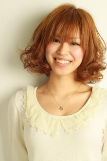 ふんわりエアリーボブ。|la luna alex 神戸北町店のヘアスタイル