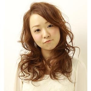 メリハリミディ|la luna alex 神戸北町店のヘアスタイル