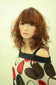 ガーリーウェーブ♪|la luna alex 神戸北町店のヘアスタイル