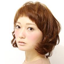 カジュアルボブ★ la luna alex 神戸北町店 横川 マミのヘアスタイル