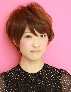 フェミニンショート2|la luna alex 神戸北町店のヘアスタイル