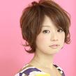ふわフレンチショート☆ la luna alex 神戸北町店のヘアスタイル