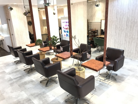 rocca hair innovation 稲毛西口店