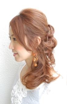 昼下がりのハニカミサイドアップ|rocca hair innovation【ロッカ】のヘアスタイル