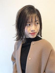 外ハネボブディ|rocca hair innovation 稲毛西口店のヘアスタイル