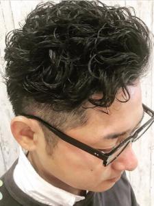 刈り上げエッヂカール|rocca hair innovation 稲毛西口店のヘアスタイル