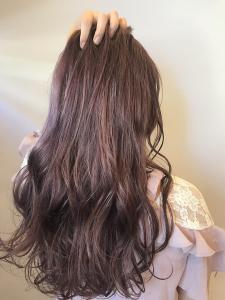 ピンクでアッシュなカラー|rocca hair innovation 稲毛西口店のヘアスタイル