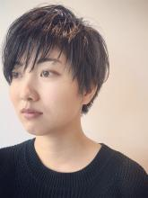 グレイッシュショート|rocca hair innovation 稲毛西口店のヘアスタイル