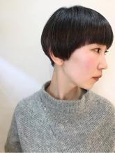 丸みショート|rocca hair innovation 稲毛西口店のヘアスタイル