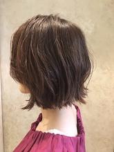 外ハネ切りっぱなし大人ボブ♪|MaruQuee de mashuのヘアスタイル