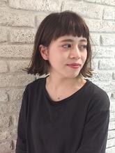 外ハネ切りっぱなしボブ♪|MaruQuee de mashu 岡田 至弘のヘアスタイル