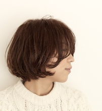 マッシュレイヤーボブ|MaruQuee de mashu 岡田 至弘のヘアスタイル