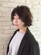 ウェットカールボブ♪|MaruQuee de mashu 岡田 至弘のヘアスタイル