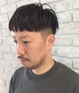 刈り上げパッツンショート|MaruQuee de mashuのヘアスタイル