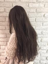 グランジアッシュロングヘアー♪|MaruQuee de mashuのヘアスタイル