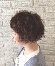 ダメージレスなモイデジウェーブ♪|MaruQuee de mashuのヘアスタイル