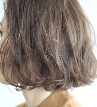 ミルクティーアッシュボブ♪|MaruQuee de mashuのヘアスタイル