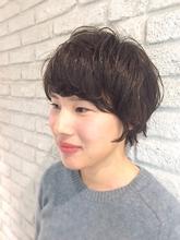 マッシュショート★耳かけ無造作ショートジェンダーレス|MaruQuee de mashuのヘアスタイル