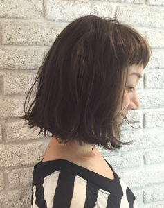 アンニュイウェーブボブ♪|MaruQuee de mashuのヘアスタイル