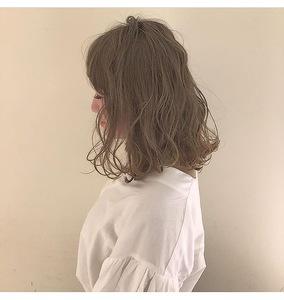 切りっぱなしボブ・ハイデザインカラー|Lumier de mashuのヘアスタイル