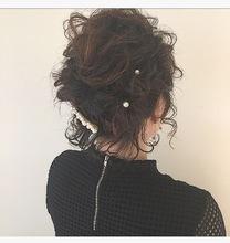 ショートボブ・パールアレンジ|Lumier de mashuのヘアスタイル