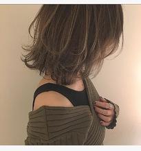 マッシュウルフ・抜け感デザインカラー|Lumier de mashuのヘアスタイル