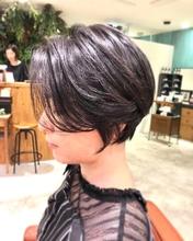 大人女性のハンサムショート|Lumier de mashuのヘアスタイル