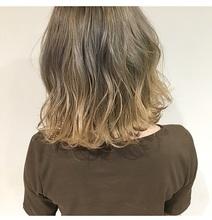 ナチュラルグラデーションカラー|Lumier de mashuのヘアスタイル