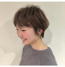 マッシュショートスタイル|Lumier de mashuのヘアスタイル
