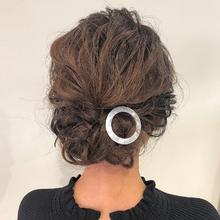 ルーズに結婚式ヘアアレンジ|Lumier de mashuのヘアスタイル
