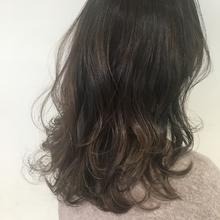柔らかグレージュカラー|Lumier de mashu 坂本 芽映のヘアスタイル