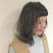 ウルフレイヤースタイル|Lumier de mashu 坂本 芽映のヘアスタイル