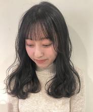 透け感グレージュカラー|Lumier de mashu 坂本 芽映のヘアスタイル