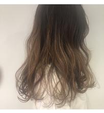 ハイライトグラデーションカラー|Lumier de mashu 坂本 芽映のヘアスタイル