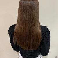 ツヤ髪ロング