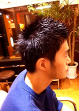 ランダムショート|kanon hairのメンズヘアスタイル