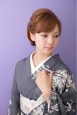 【和装】 編み込みアップスタイル ≪ichiko≫