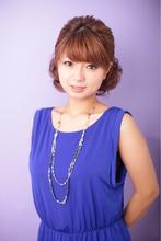 【結婚式】 可愛いカールアップ ≪ichiko≫|ichiko  のヘアスタイル