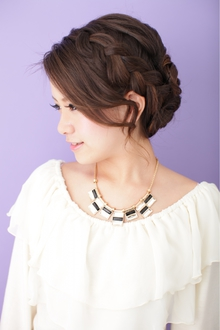 【結婚式】 アップスタイル ≪ichiko≫|ichiko  のヘアスタイル