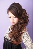 【エクステ】 サイドダウン ≪ichiko≫|ichiko  のヘアスタイル