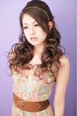 【パーティー】 ハーフアップ ≪ichiko≫|ichiko  のヘアスタイル